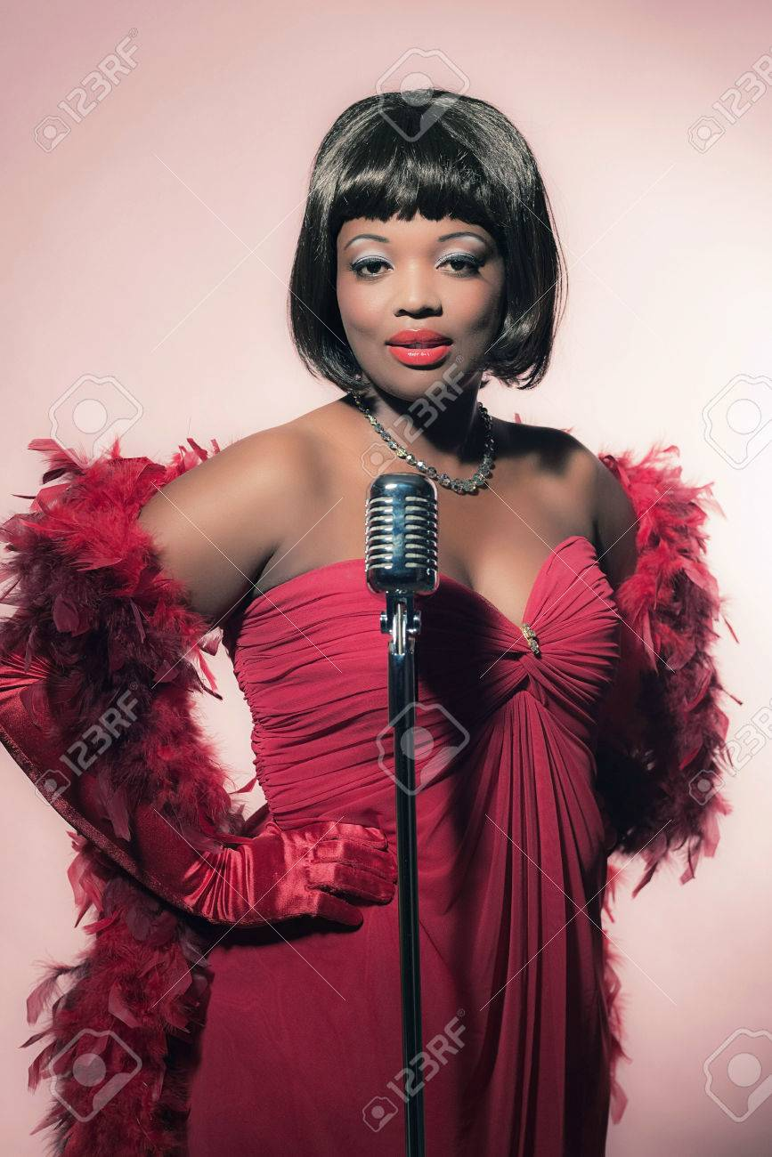 Red Singer Dress