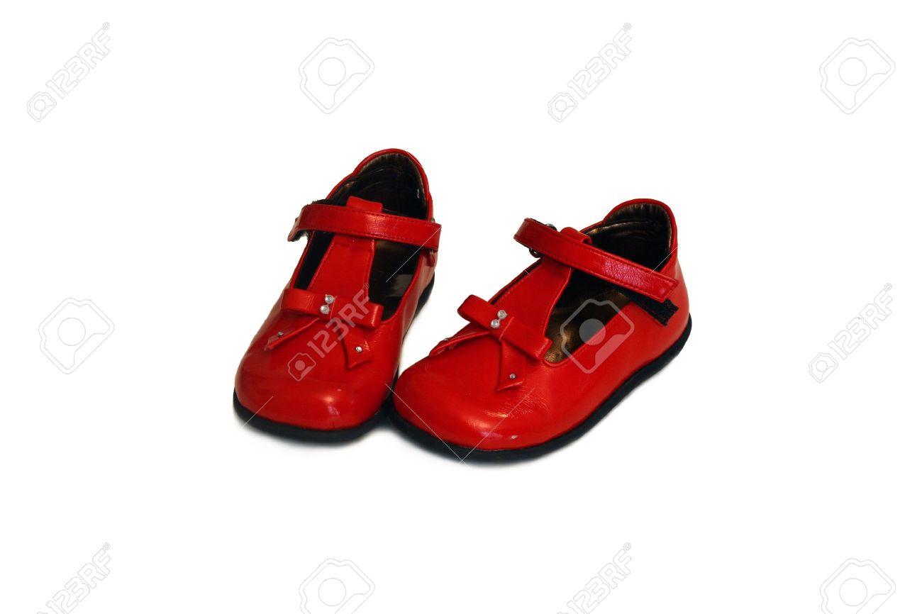 Un Par De Zapatos Rojos Bebé Fotos, Retratos, Imágenes Y Fotografía ...