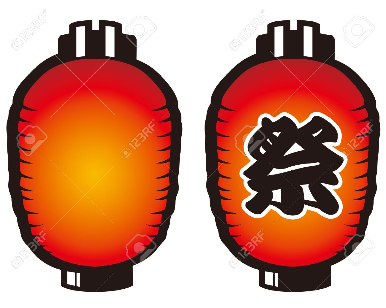 Japanese Lantern Royalty Free Cliparts, Vectors, And Stock ... for Japanese Lamp Vector  61obs