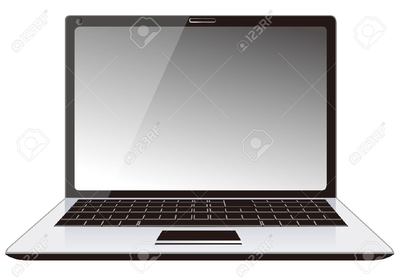 Laptop PC notebook Stock Vector - 12839816