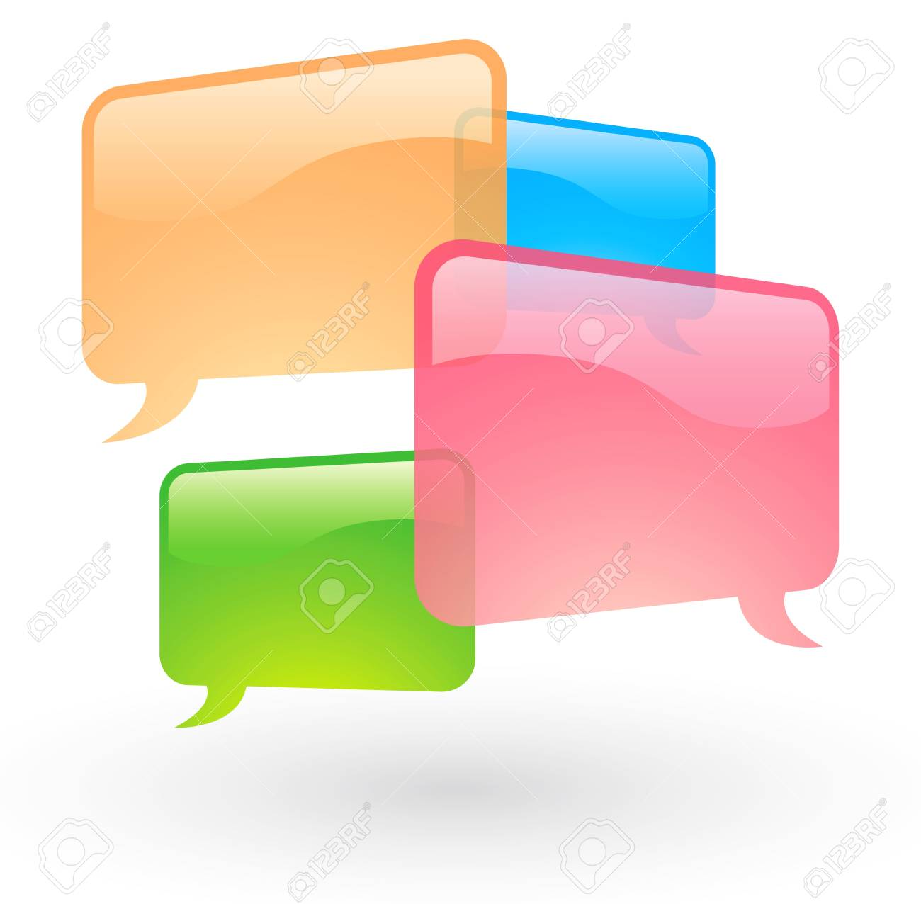 Speech bubble Stock Vector - 16067328