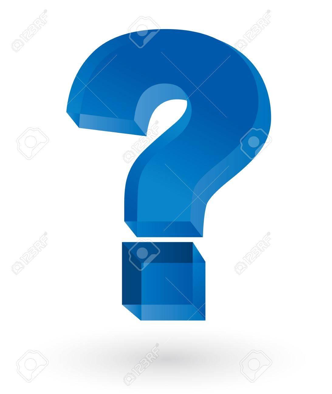 Vector question mark Stock Vector - 16356974