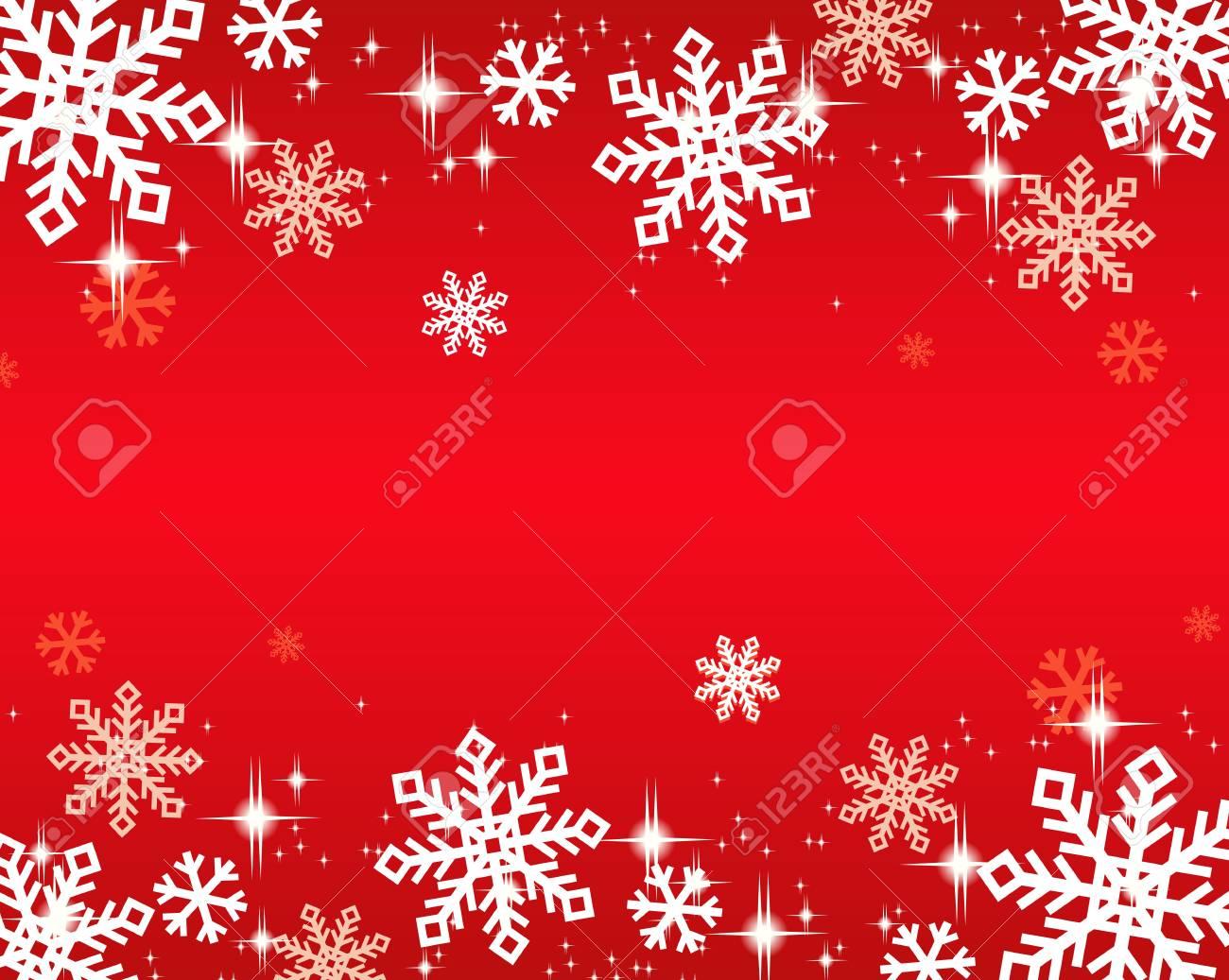 snowflakes background Stock Vector - 16548732