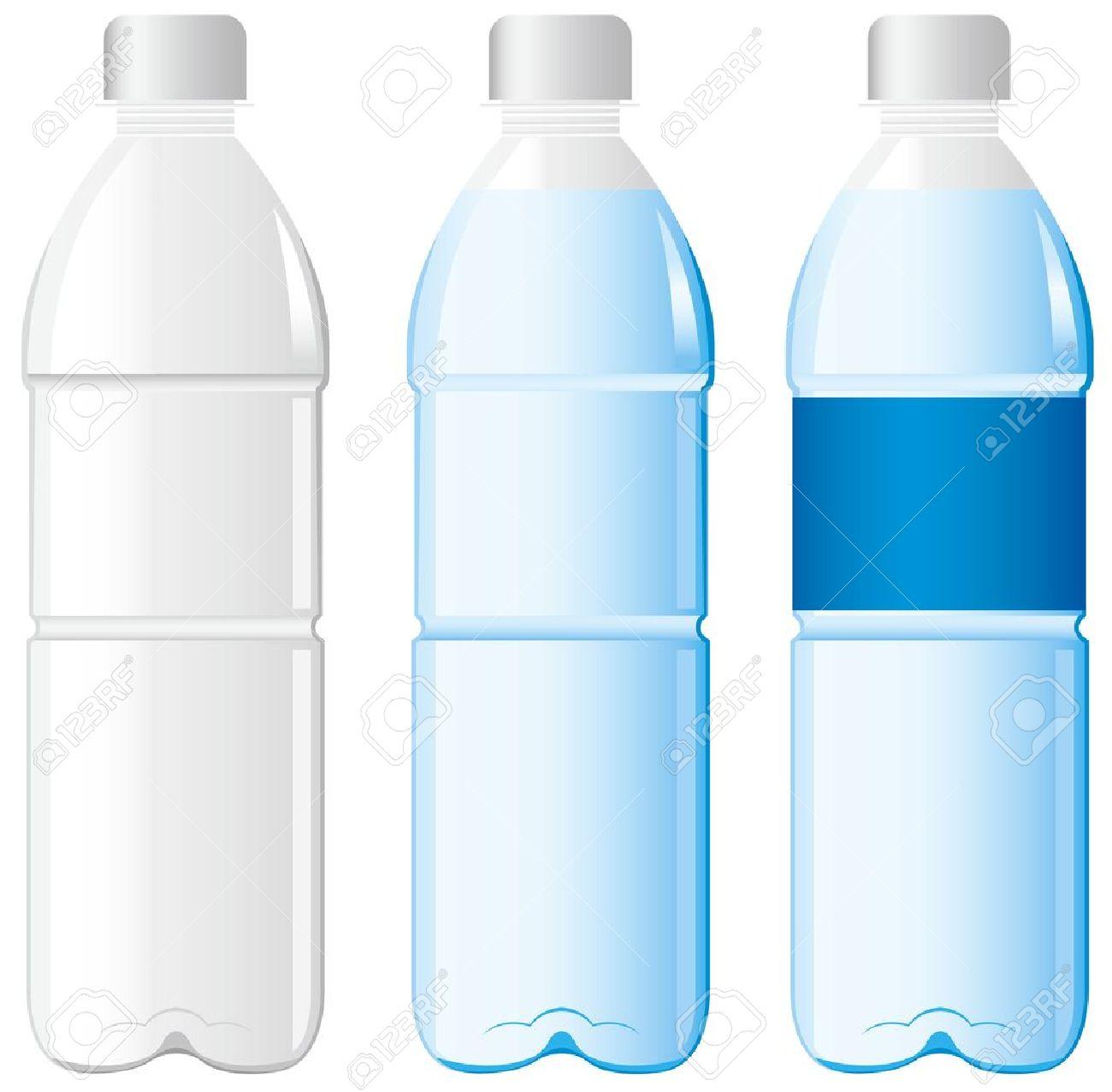 bottle of water Vector Vector Plastic Bottle Vector