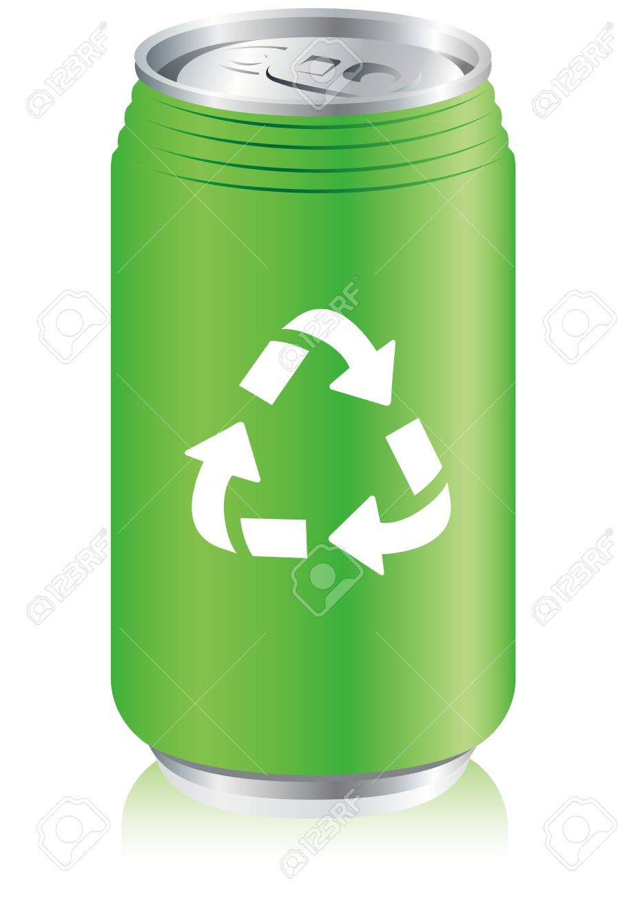 Aluminum Can Recycle Vector Royalty Free Cliparts, Vectors, And ...