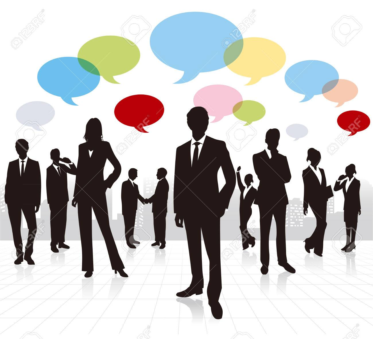 business people Vector - 30825820