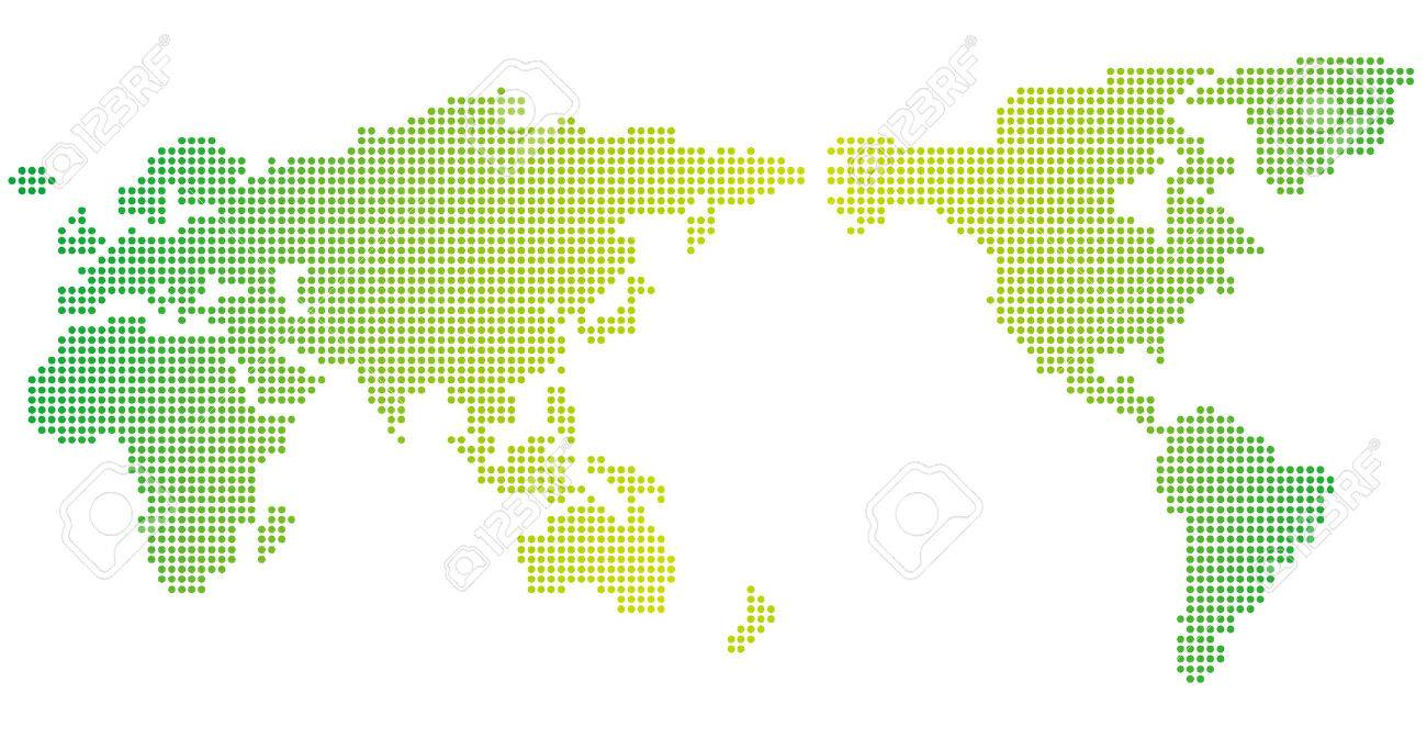 World map of dots vector royalty free cliparts vectors and stock vector world map of dots vector gumiabroncs Images