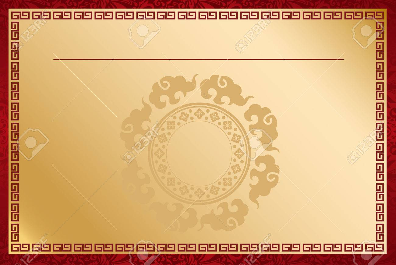 Chinese template Vector - 43071772