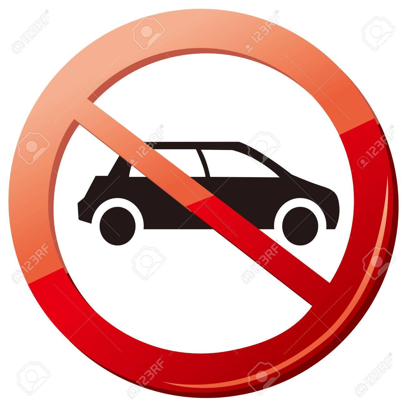 1,437 No Car Parking Stock Vector Illustration And Royalty Free No ...