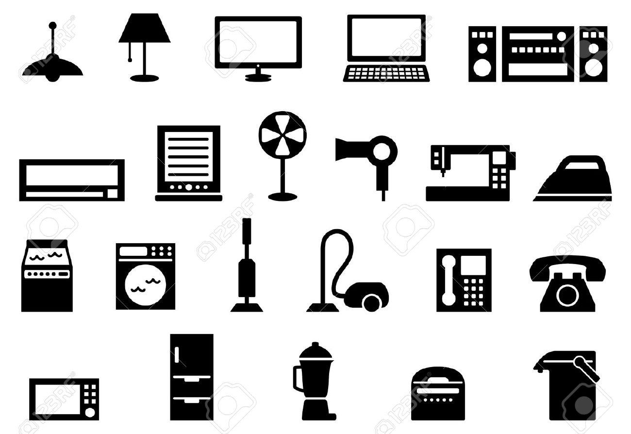Consumer electronics icon set - 41511663