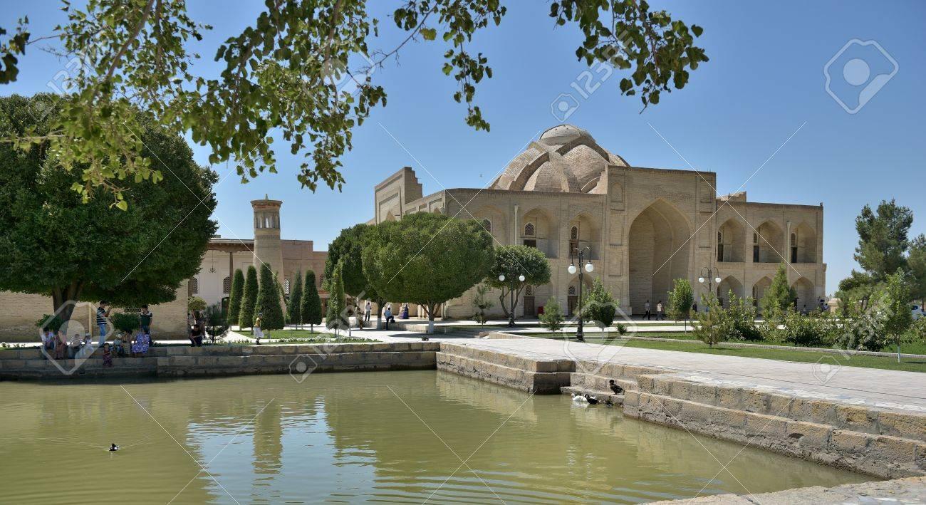 ブハラ、ウズベキスタン - 8 月...