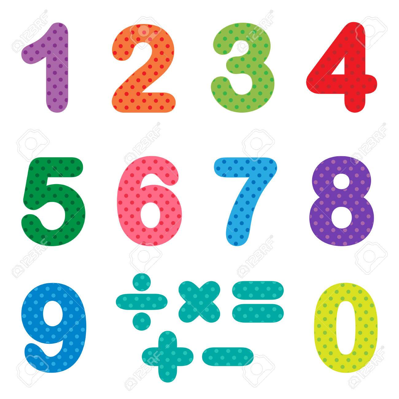 Numbers from zero to nine with mathematical signs royalty free numbers from zero to nine with mathematical signs stock vector 81951049 biocorpaavc