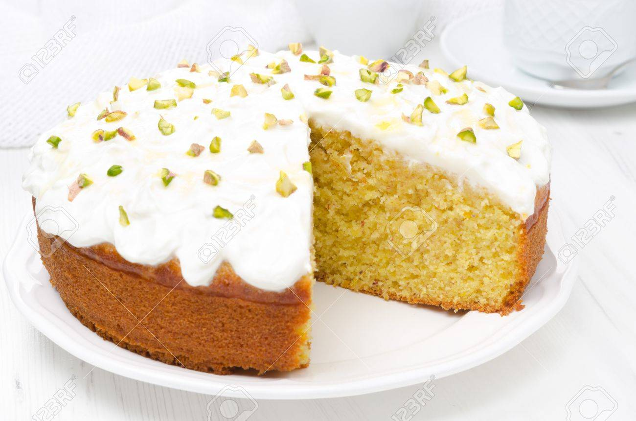 Kuchen mit griechischem joghurt