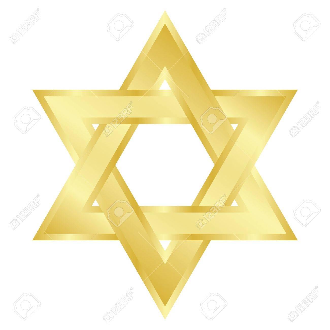 illustration of star of David  Magen David Stock Vector - 12670504