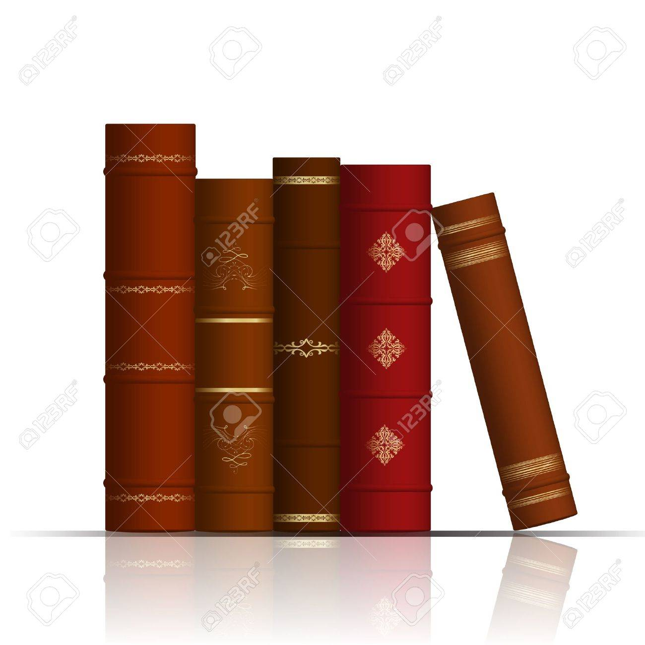illustration of old books Stock Vector - 12670854