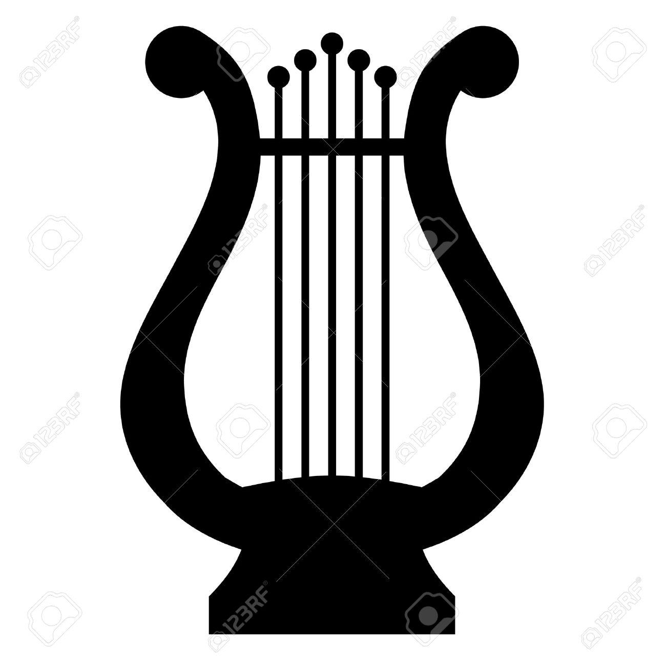 illustration of lyre Stock Vector - 12670640