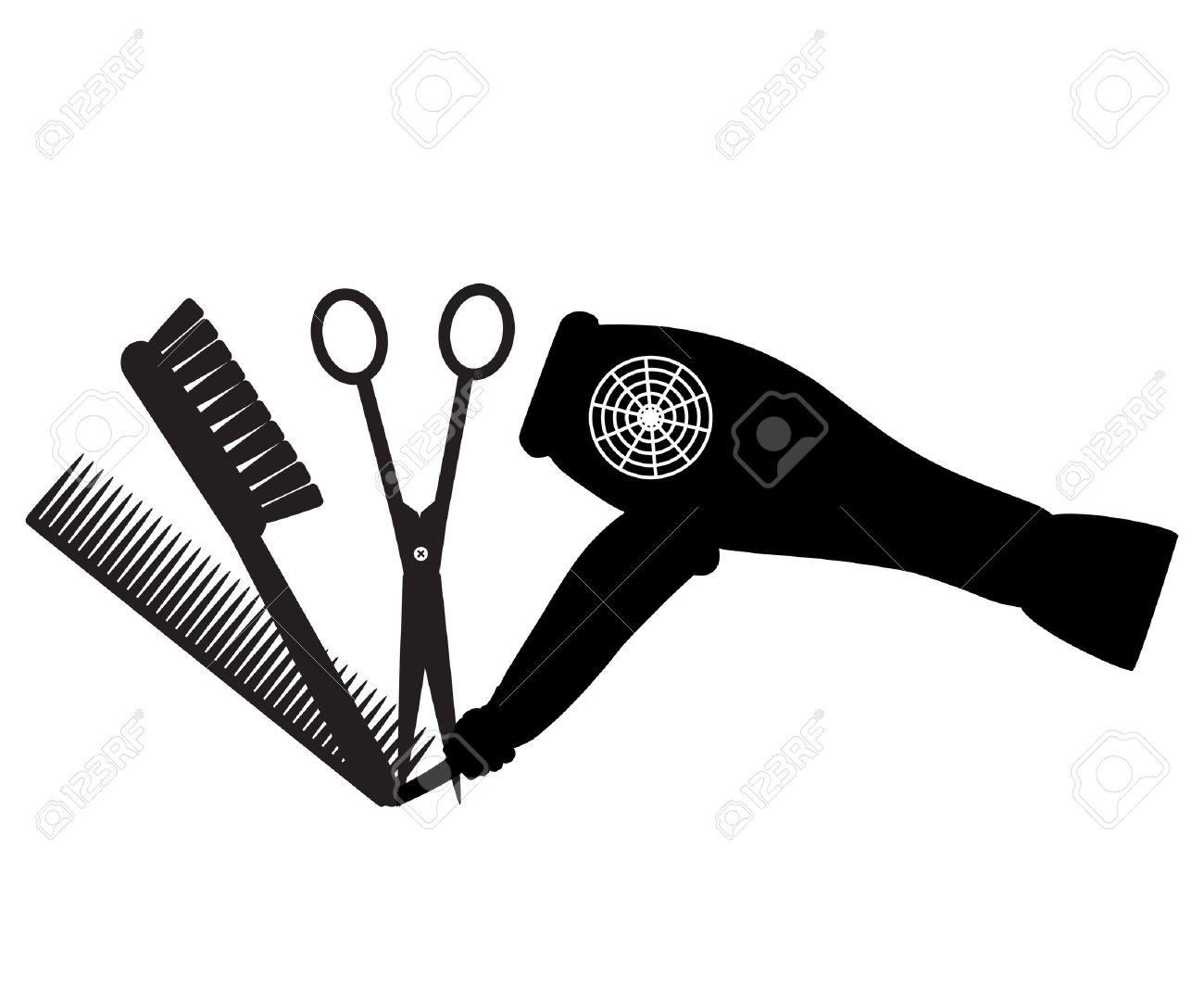 Barber Logo Stock Vector