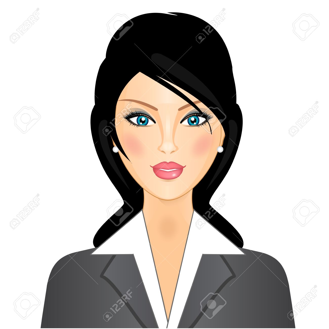businesswoman Stock Vector - 12670947