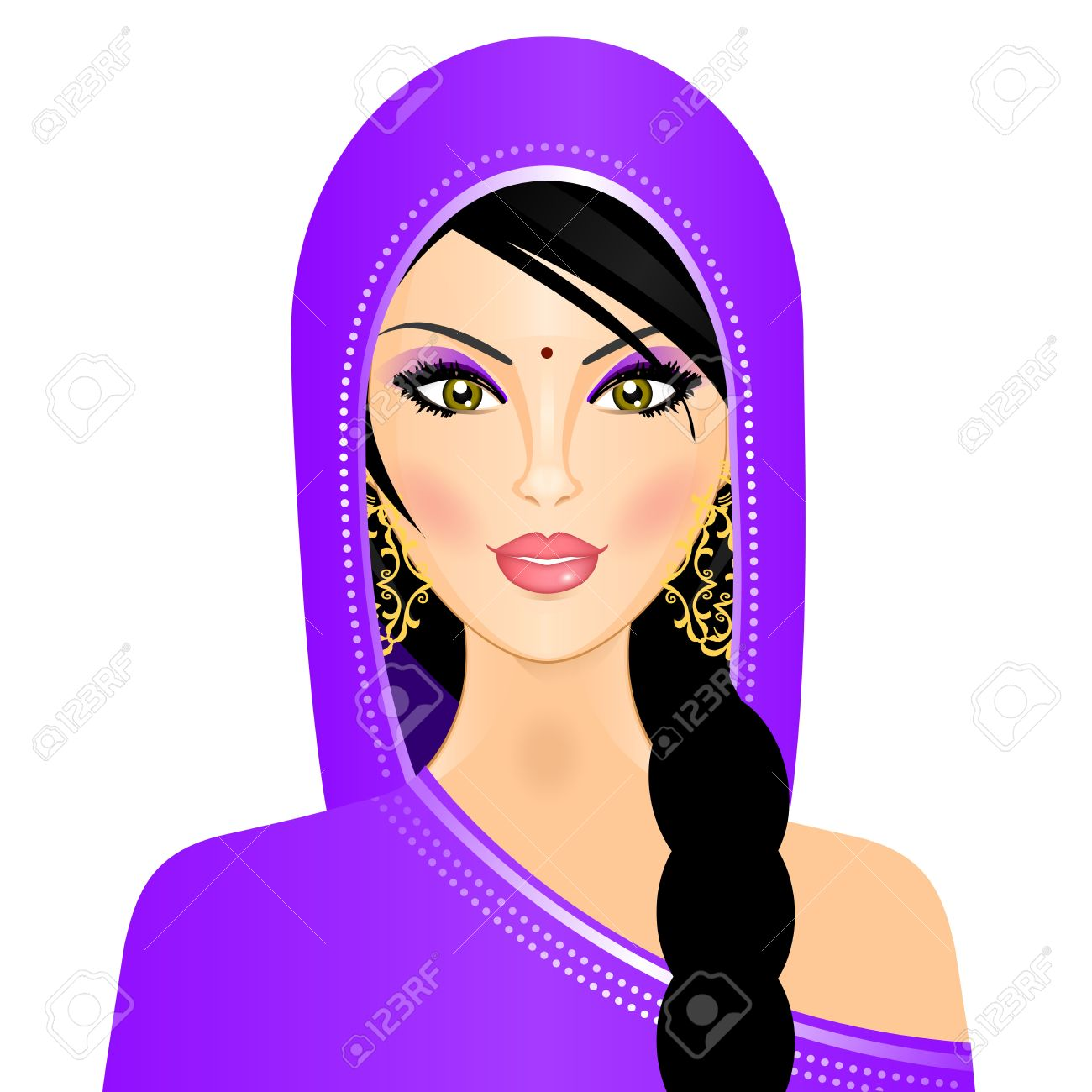 illustration of indian woman royalty free cliparts vectors and rh 123rf com