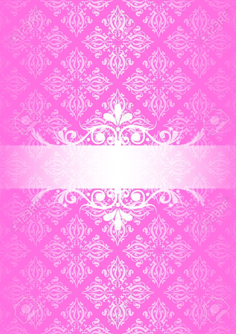 vector pink vintage background royalty free cliparts vectors and