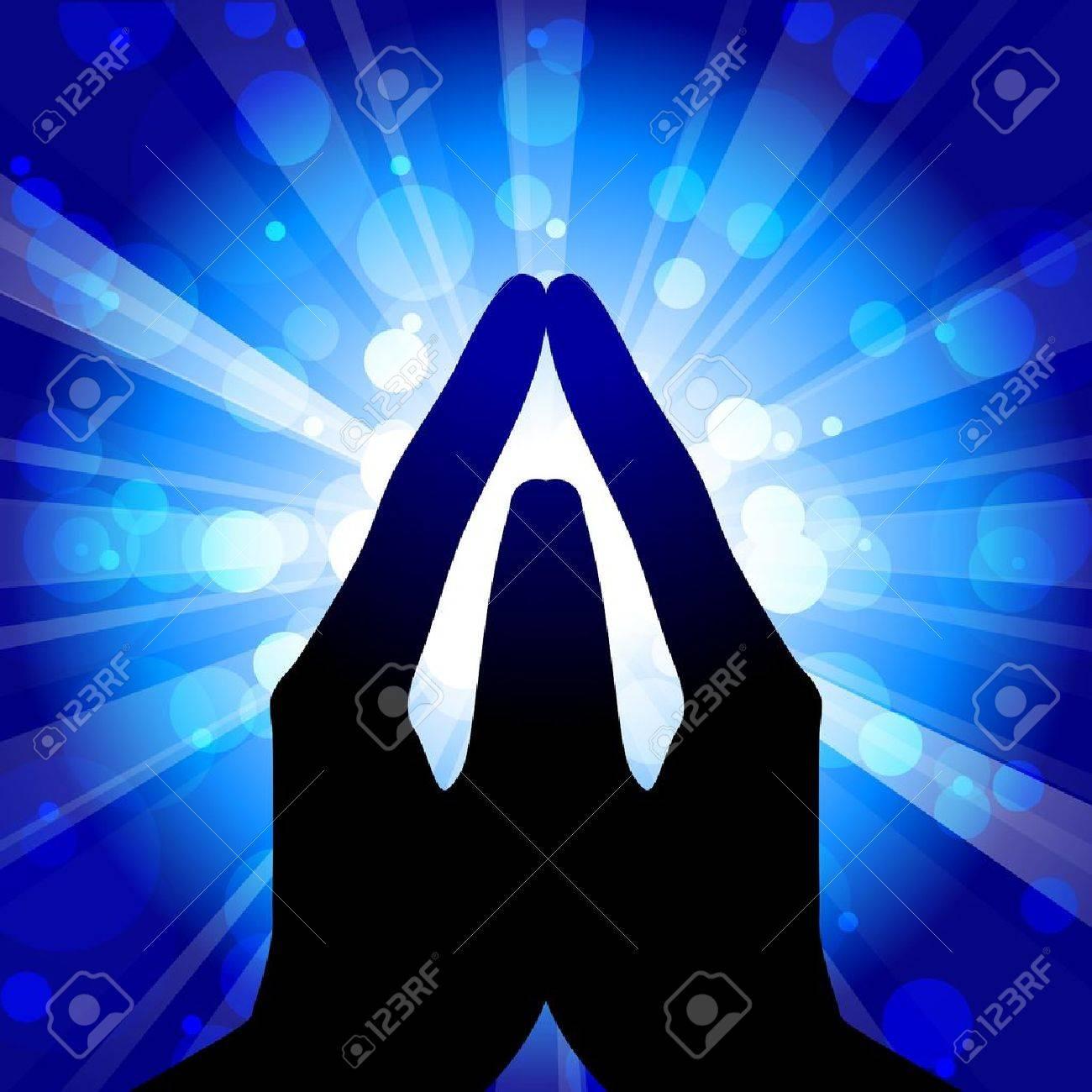 Prayer - vector illustration Stock Vector - 12928967
