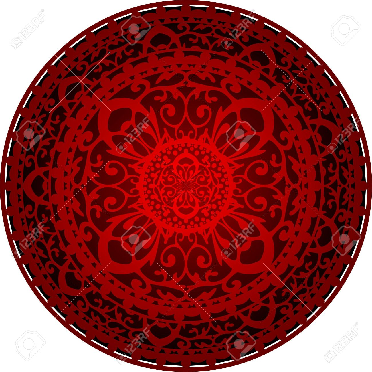 Illustration of oriental rug Stock Vector - 13212898