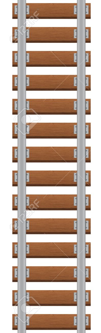 9,540 Train Track Cliparts, Stock Vector And Royalty Free Train ...