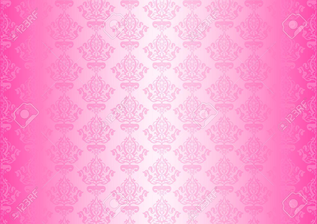 pink wallpaper Stock Vector - 13531623
