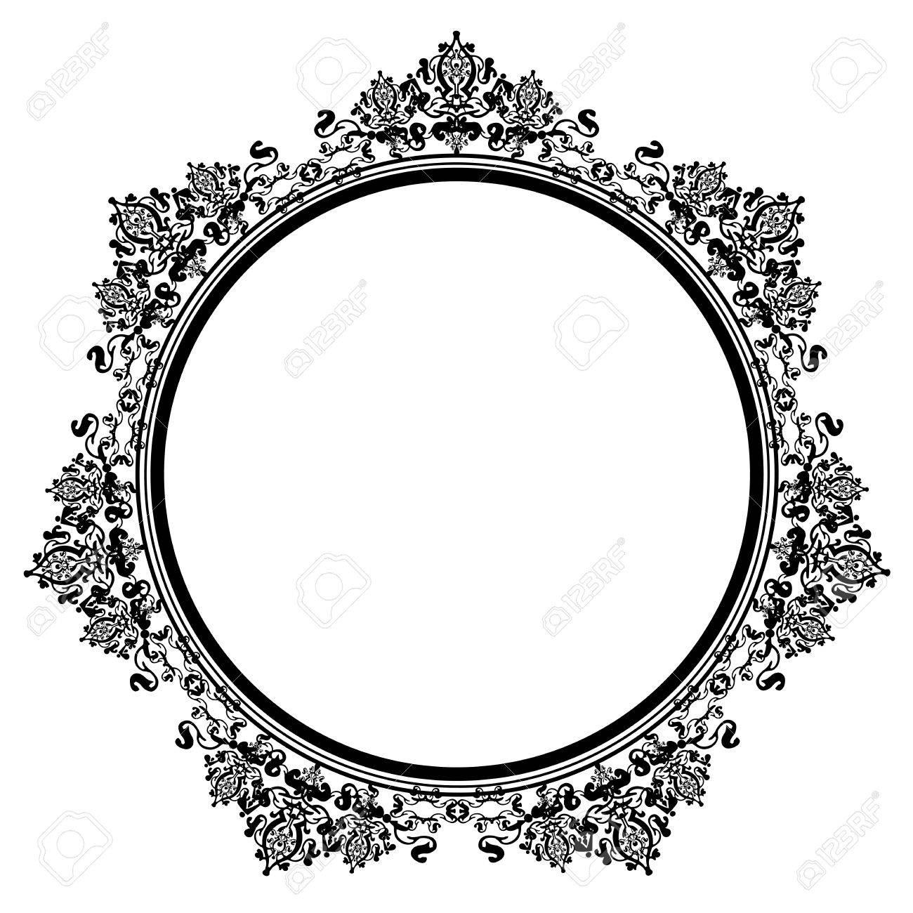 Black Vintage Frame Design 🔎zoom Black Vintage Frame Design ...