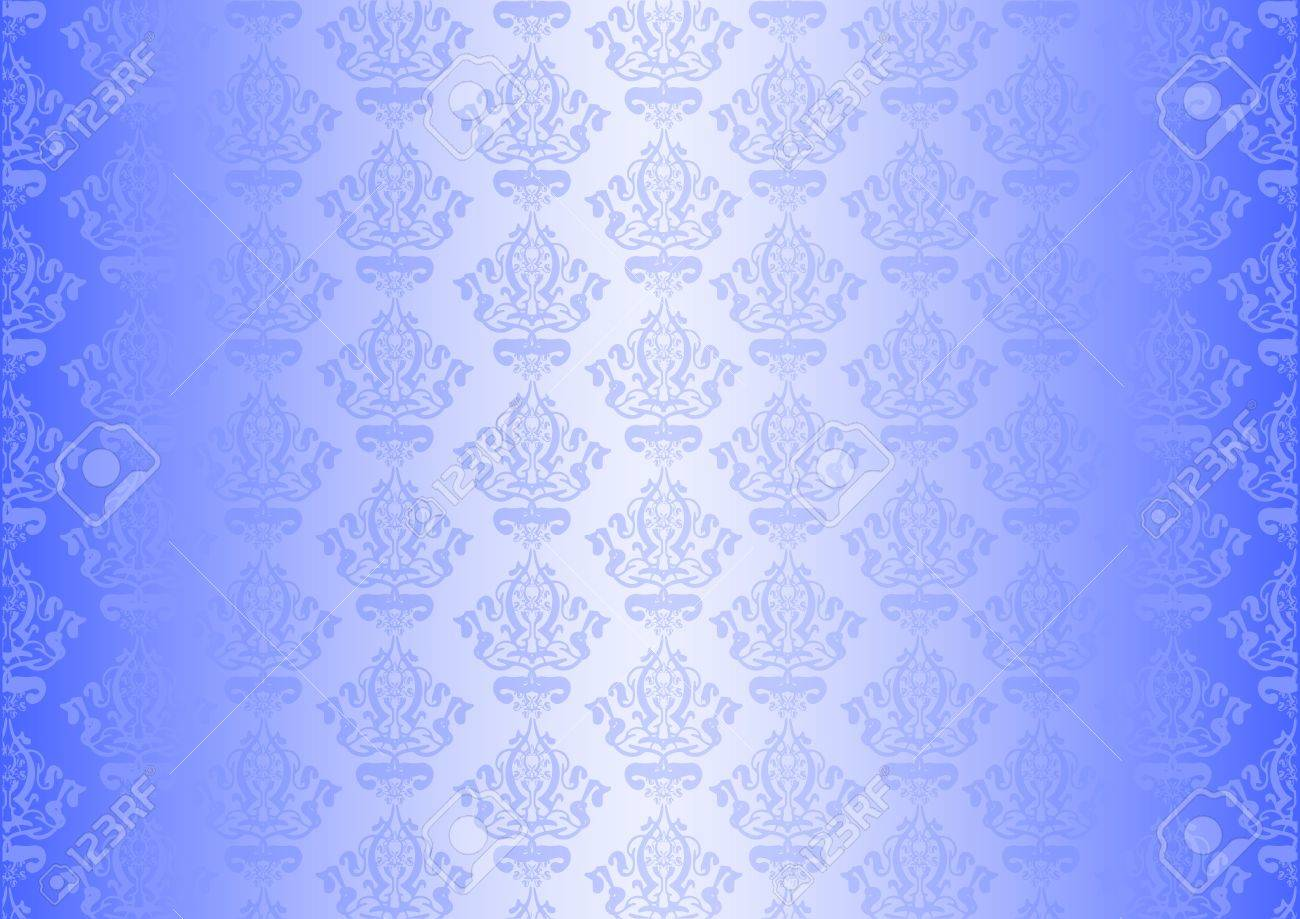 Vector blue wallpaper Stock Vector - 13620685