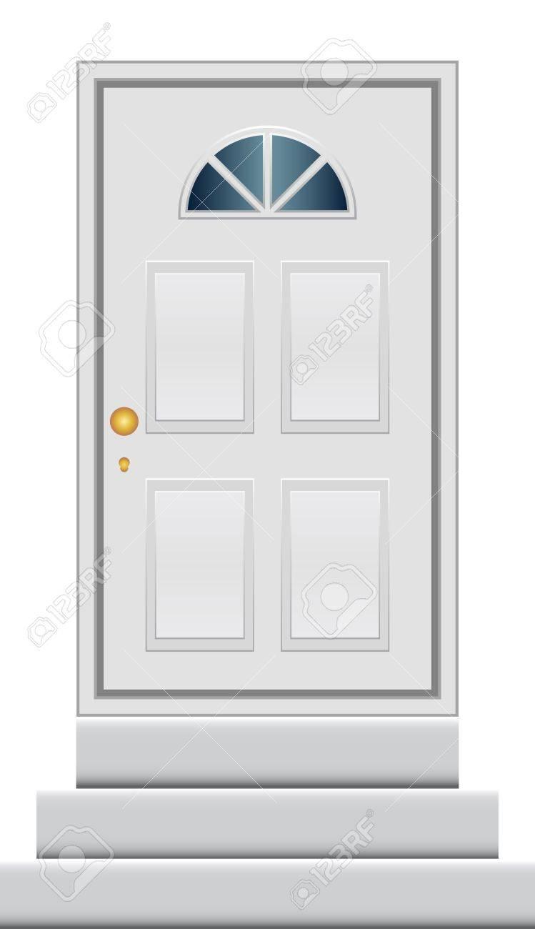 Vector illustration of door Stock Vector - 13620661