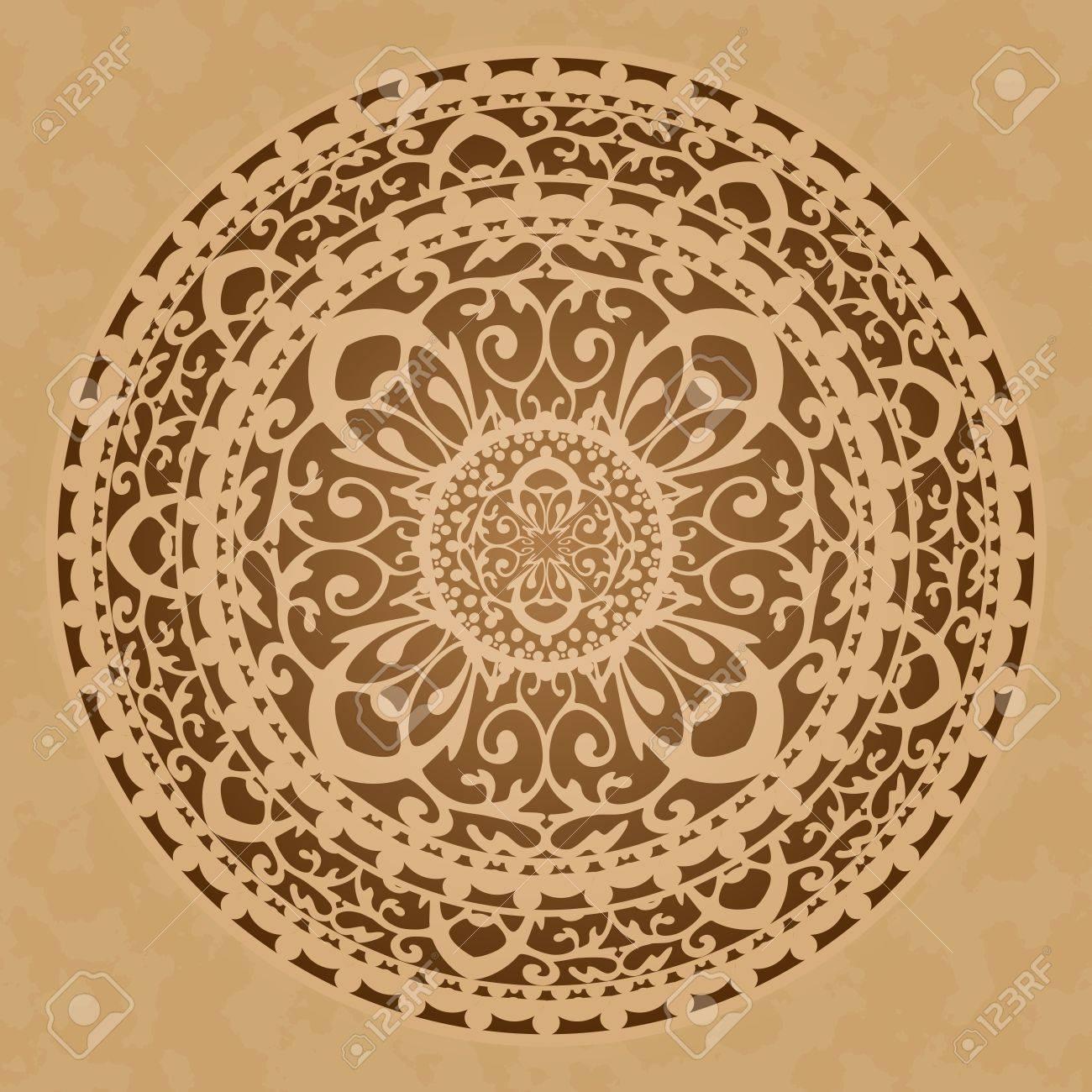 Vector illustration of oriental decoration Stock Vector - 14194608
