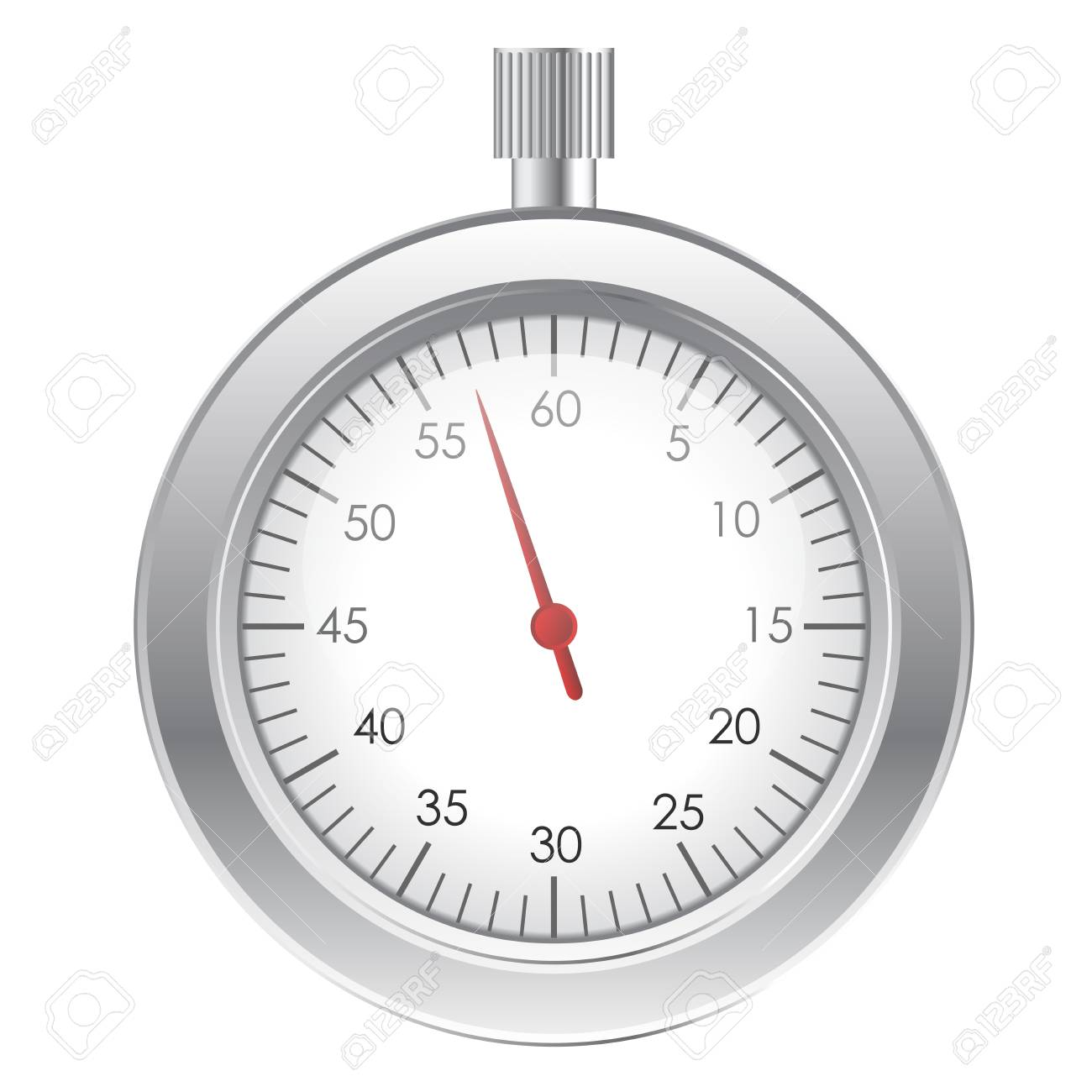 Vector illustration of stopwatch Stock Vector - 14194595
