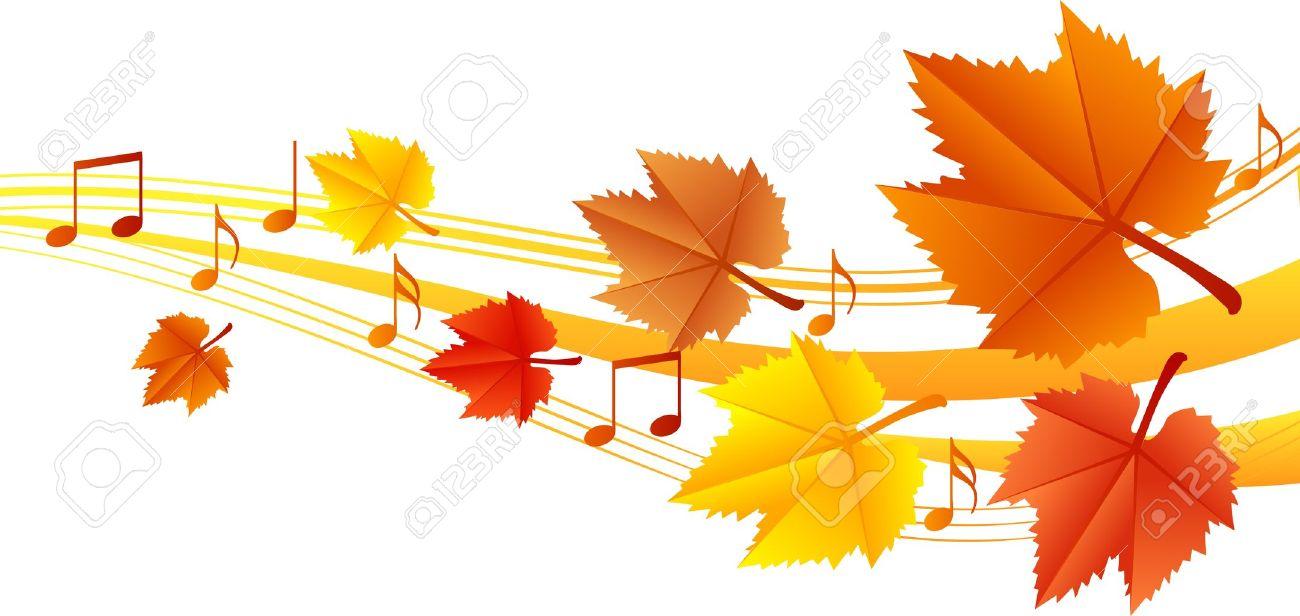 Resultado de imagen de otoño y musica