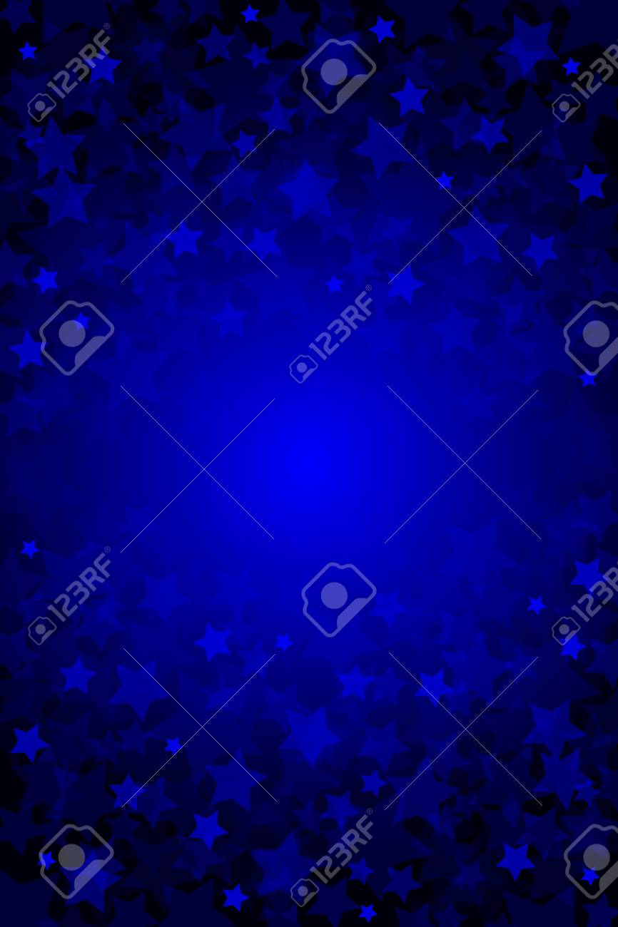 abstract background with stars Stock Vector - 14646079