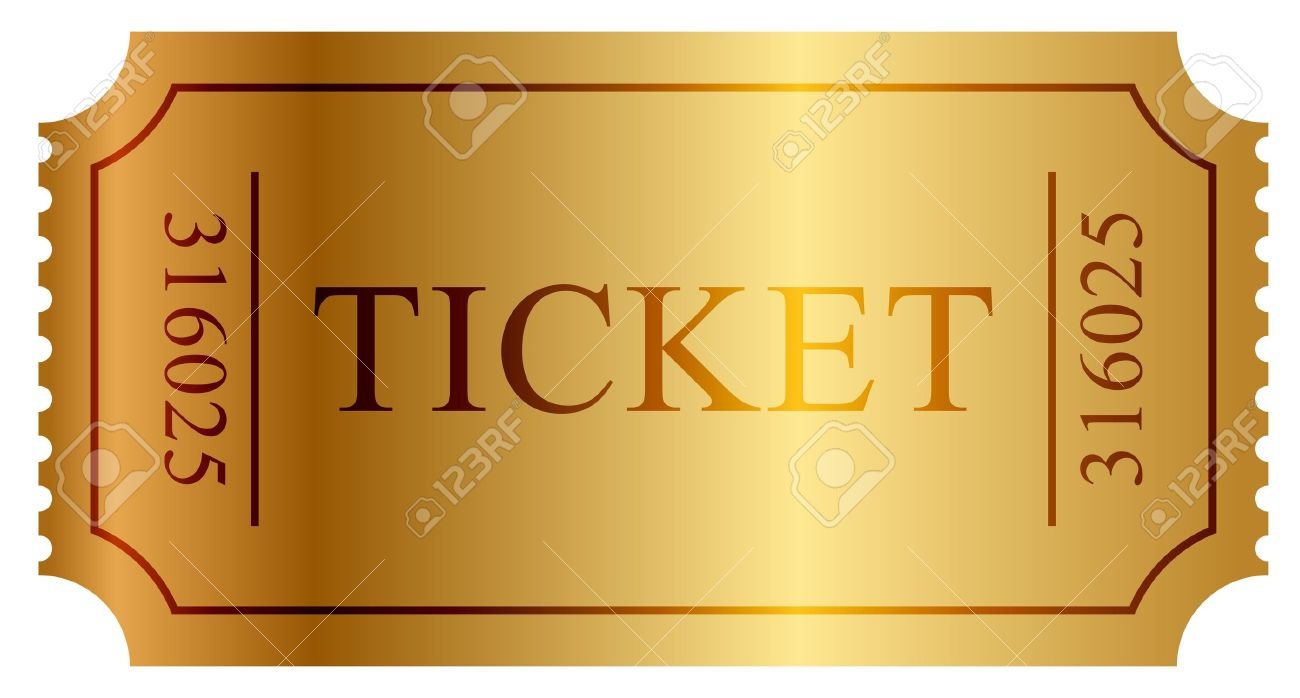 3550 Concert Ticket Vector Illustration And Royalty Free – Theatre Ticket Template Free