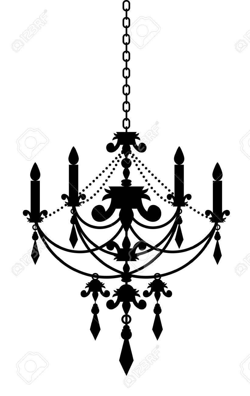シャンデリアのベクトル イラストのイラスト素材ベクタ Image 15210684