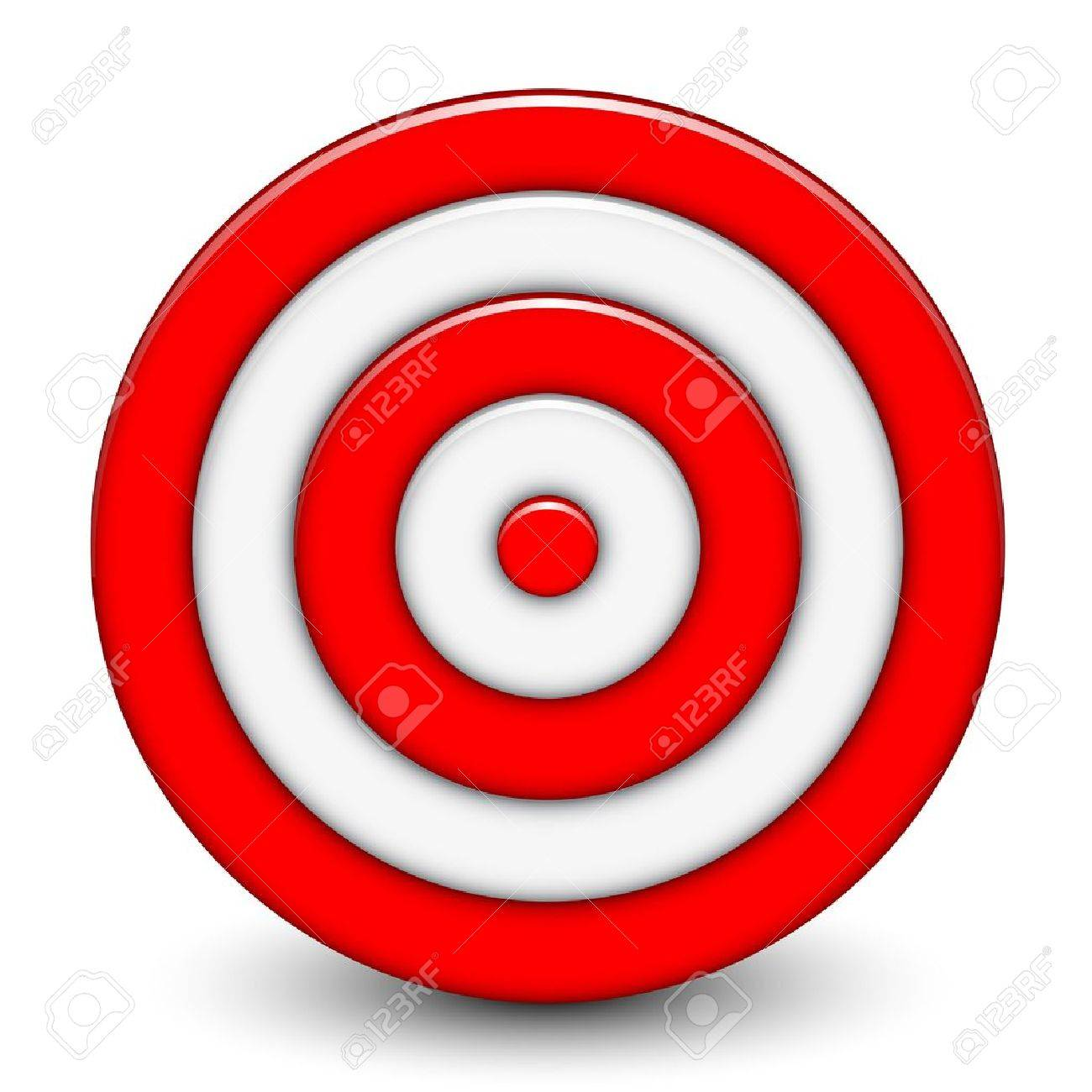 Vector illustration of 3d target royalty free cliparts vectors vector illustration of 3d target stock vector 15210767 buycottarizona Image collections