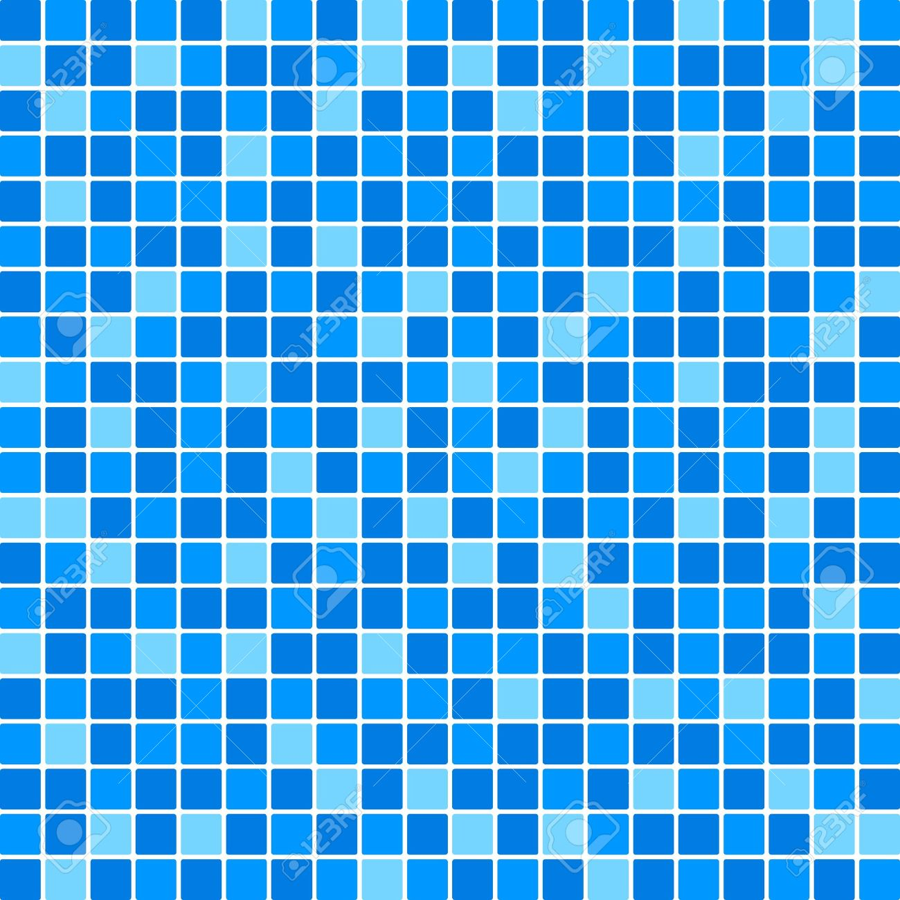 Perfect Vector Blue Tile Wall Royalty Free Cliparts, Vectors, And Stock  AC14