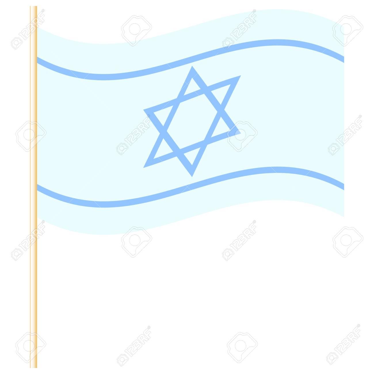 Vector illustration of Israel flag Stock Vector - 19059527