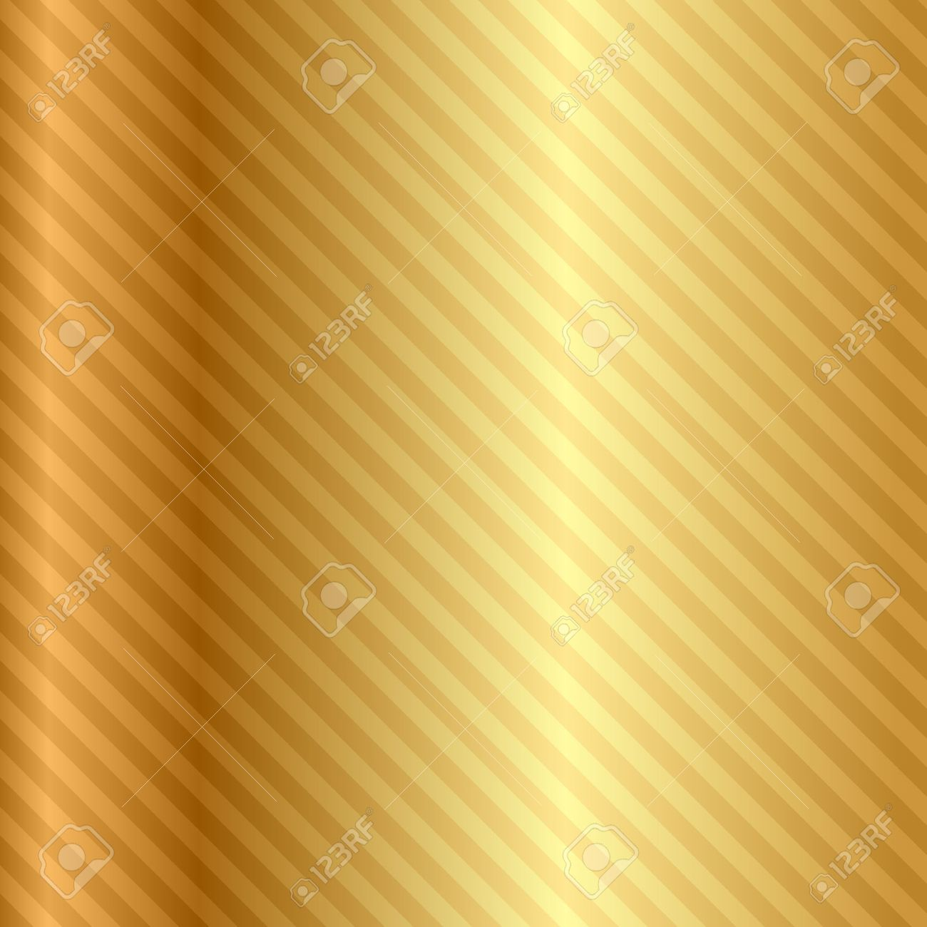 gold background with stripes Stock Vector - 20008433