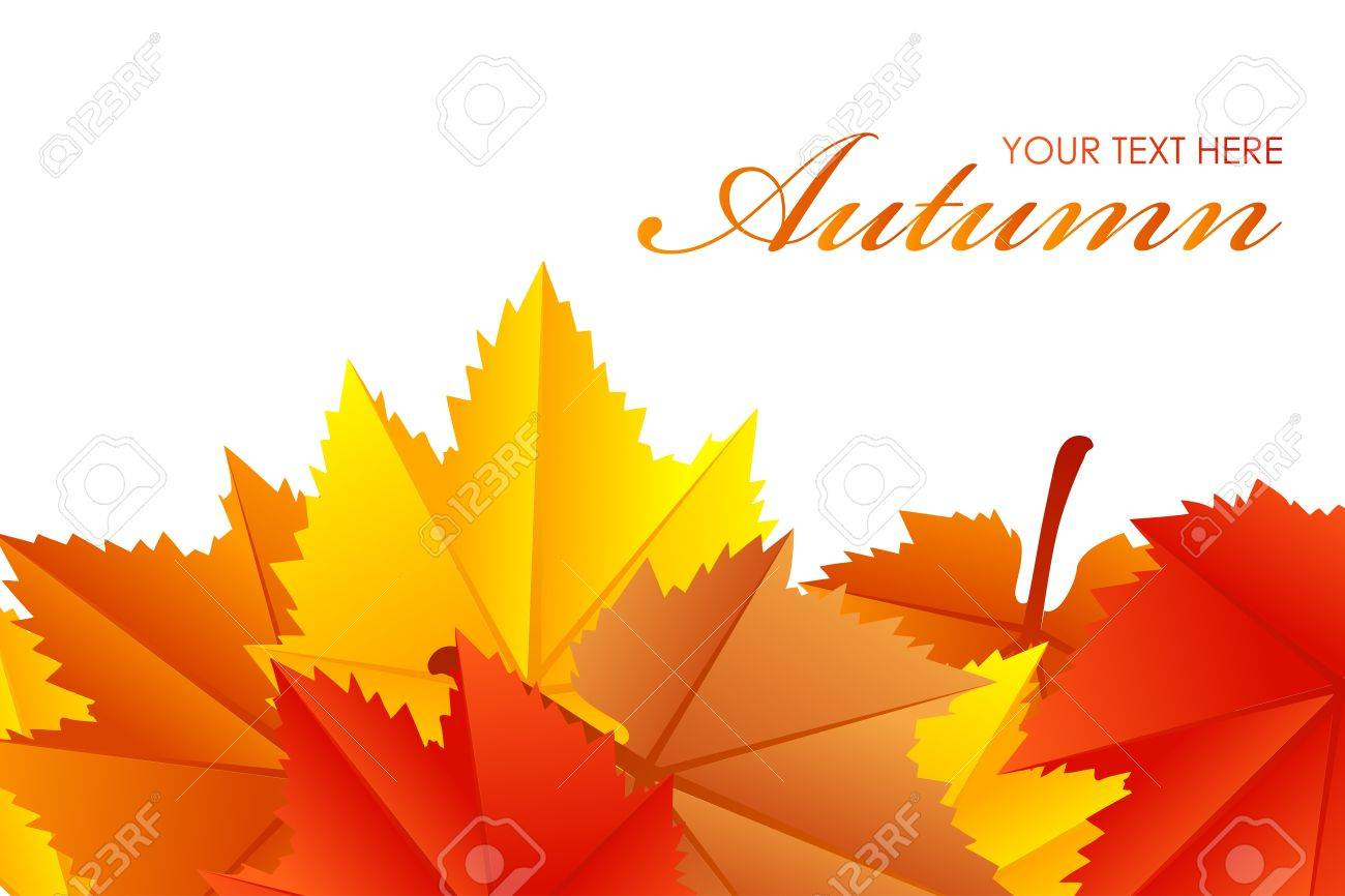 Vector illustration of fall leaves Stock Vector - 21594295