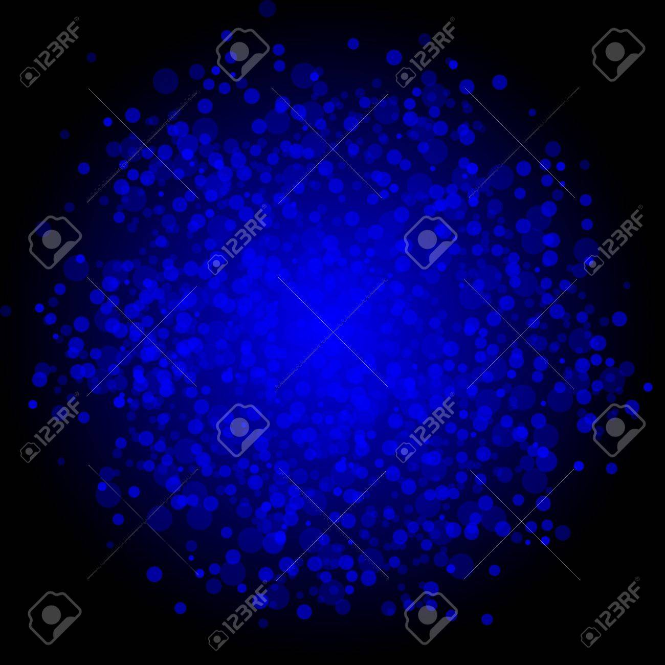Vector abstract blue background Stock Vector - 21773642