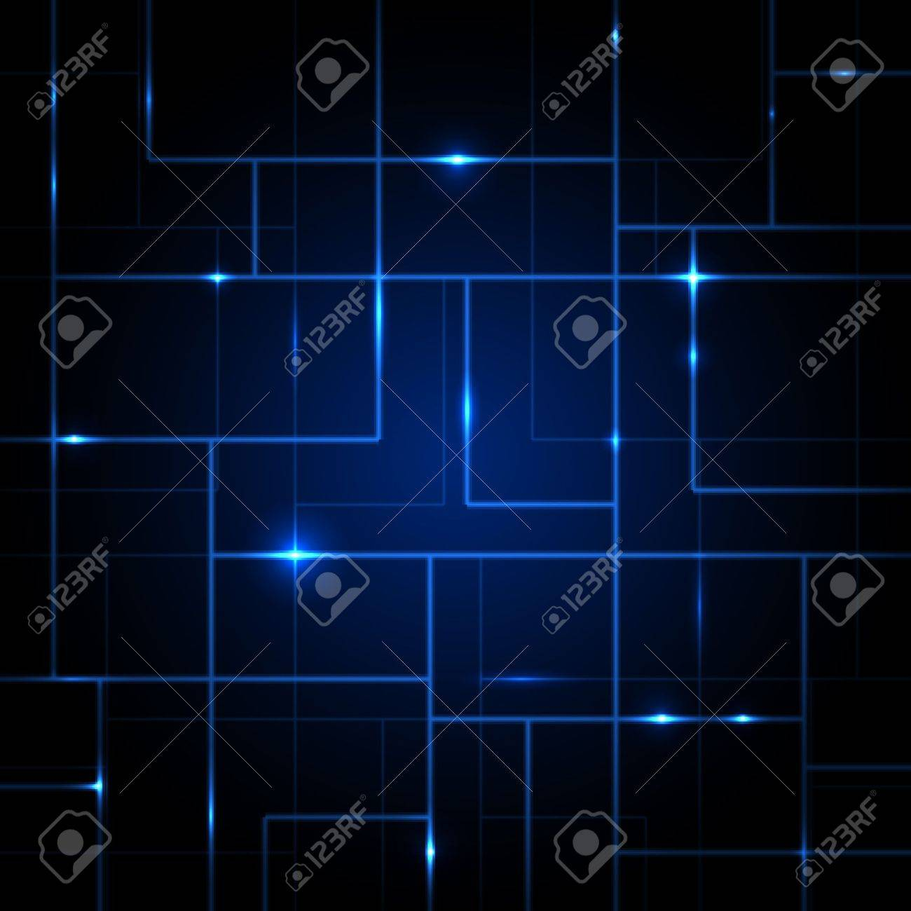 Vector Circuit Board abstract background Stock Vector - 21773683