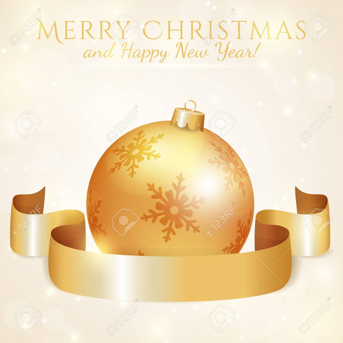 Frohe Weihnachten Band.Stock Photo