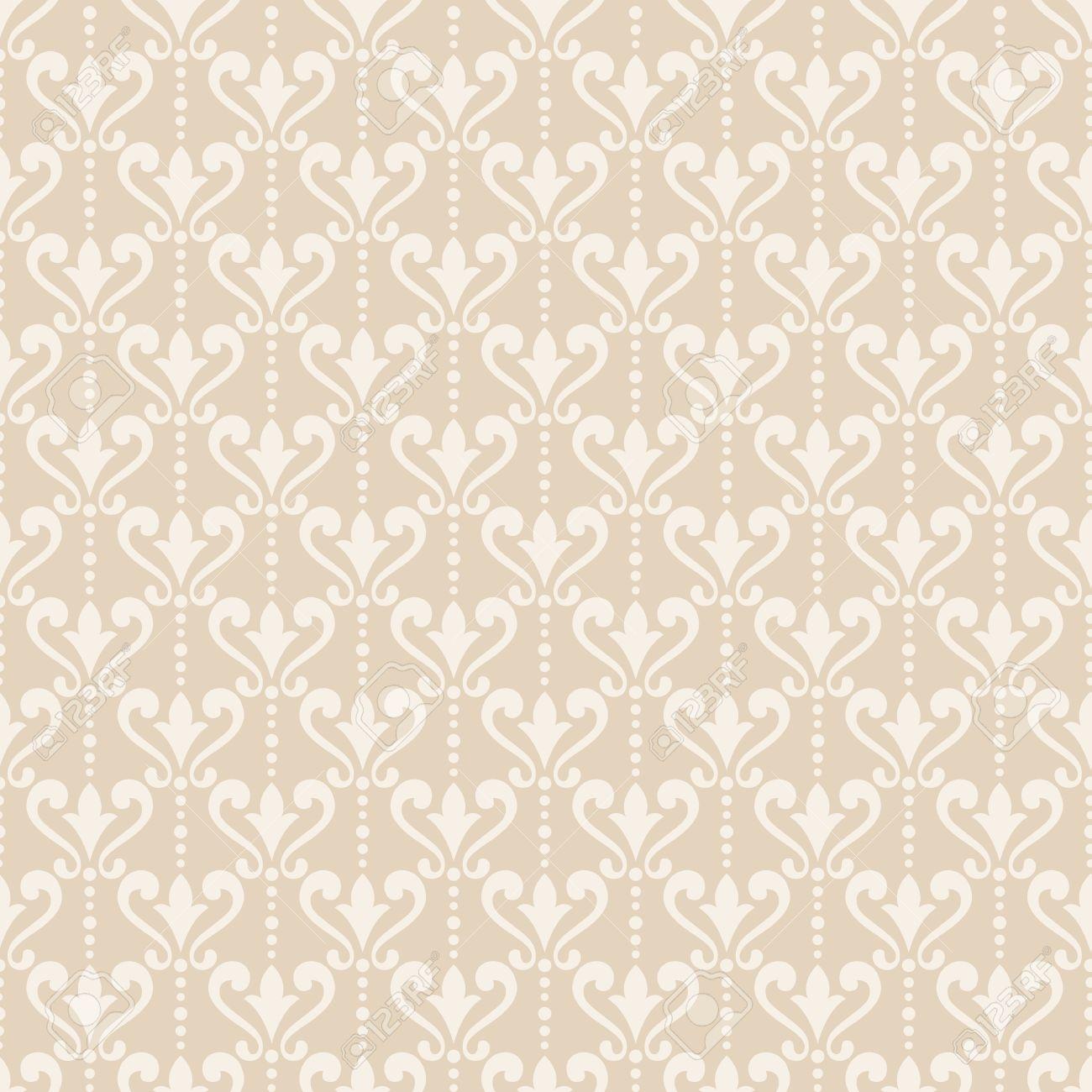56439258 damask wallpaper elegant background in victorian style elegant vintage ornament in neutral colors ve