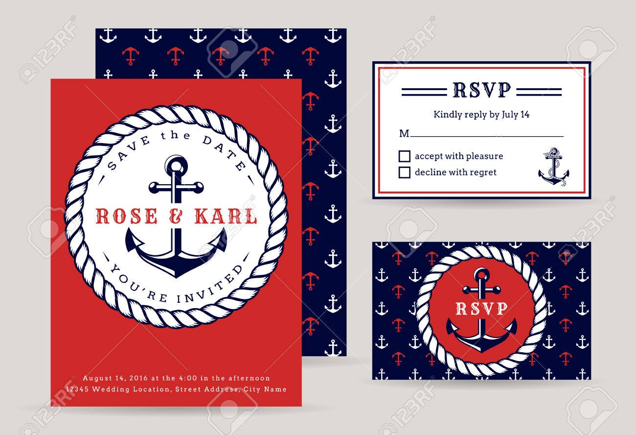 nautical party flyer all white - Heart.impulsar.co