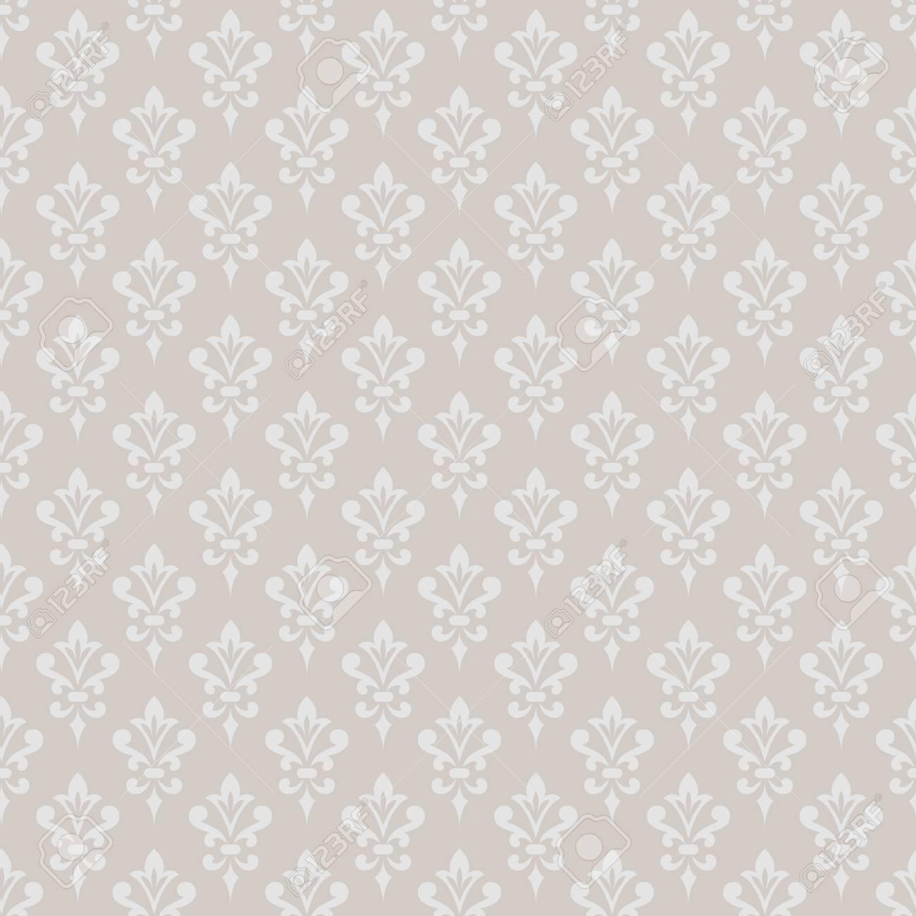 58014089 damask wallpaper elegant background in victorian style elegant vintage ornament in monochrome colors