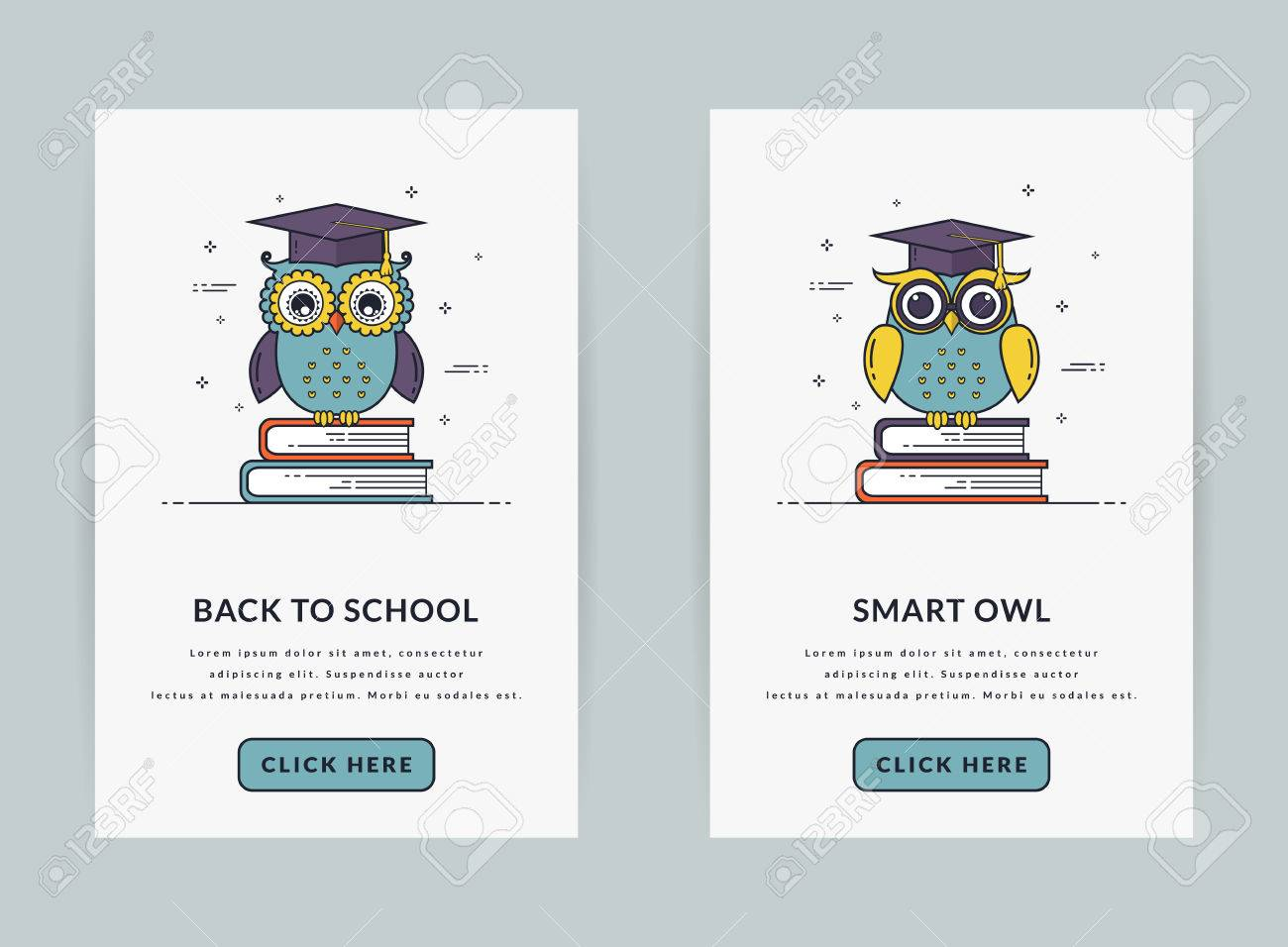 Mobile App Onboarding Screen Templates For Education And School Royalty Free Cliparts Vectors And Stock Illustration Image 83563712