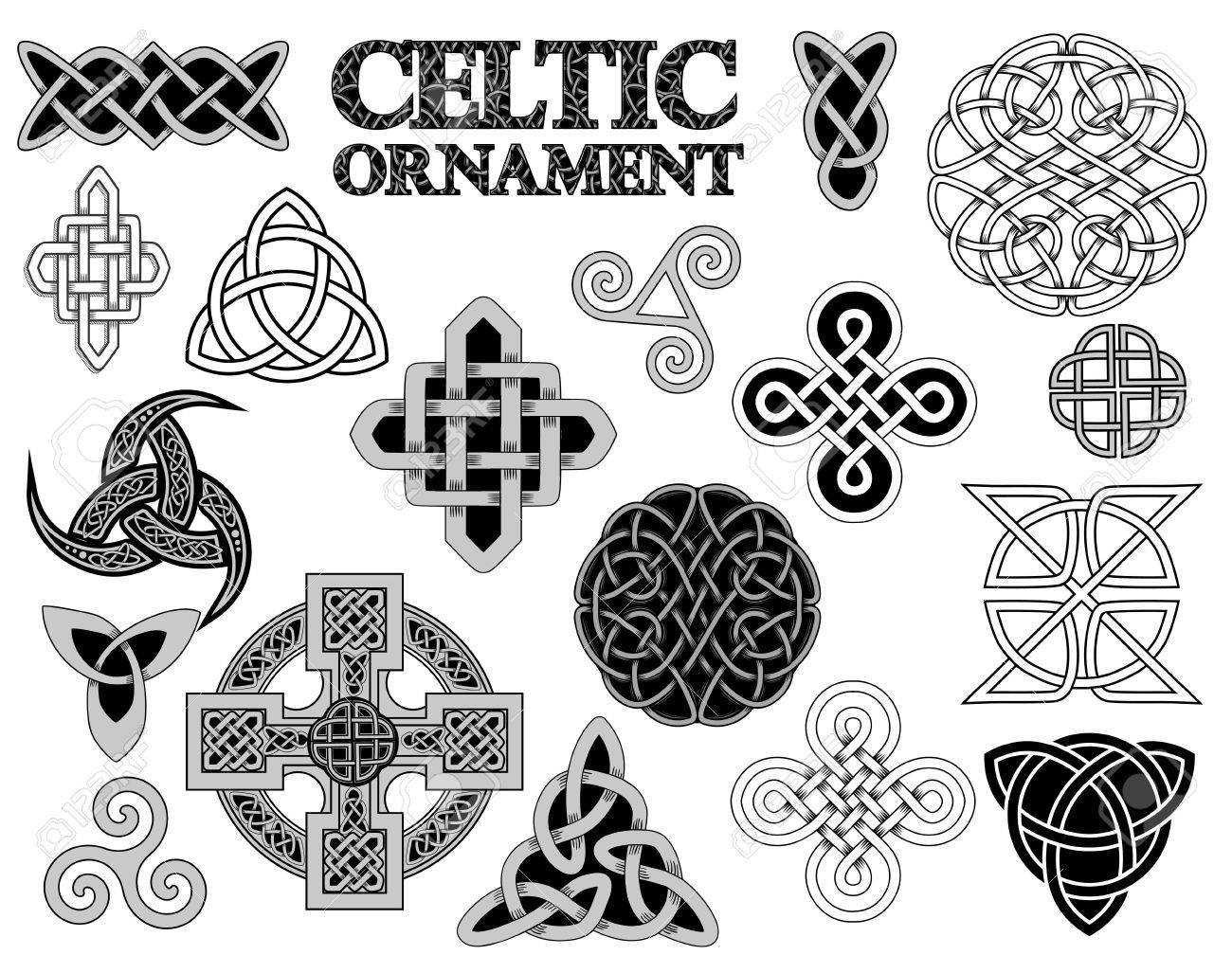 Set of ancient pagan scandinavian sacred symbols and ornaments set of ancient pagan scandinavian sacred symbols and ornaments celtic cross knot a buycottarizona